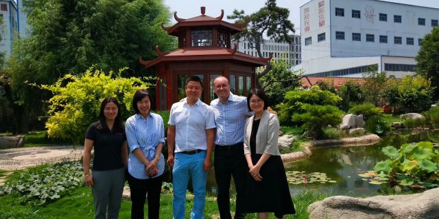 ExxonMobil's China Region Manager visited our company